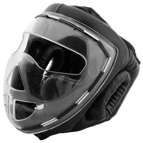Bad Company Kopfschutz mit Maske zum Boxen