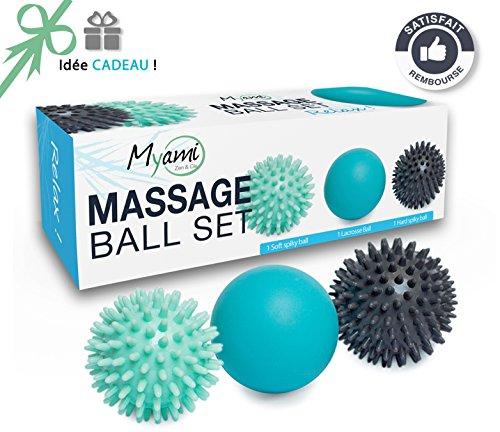 Myami Massagebälle für den Rücken / Fuss
