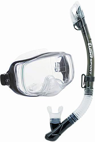 TUSA Sport Schnorchelset Imrpex 3D Dry, Smoke, UC-3325 SK