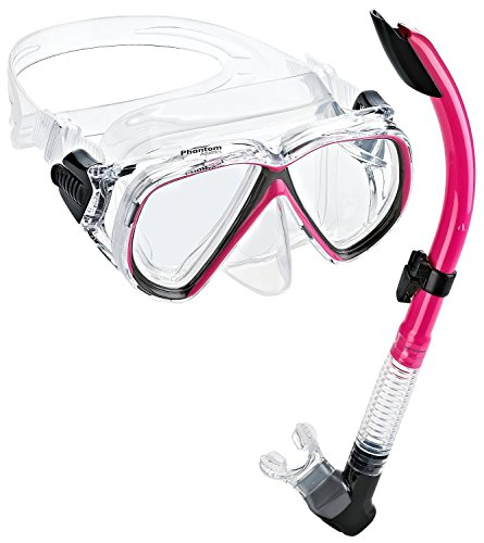Phantom Aquatics Velocity Tauchset La Costa Pro (Tauchmaske, & Schnorchel)