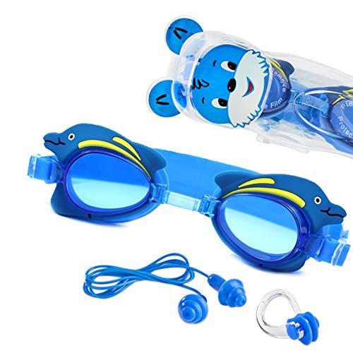 """Premium Kinder Schwimmbrille """"Swim Buddy Dolphin"""" von Sportastisch"""