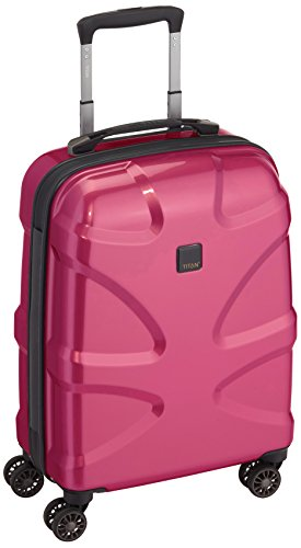 TITAN Koffer (55 cm, 38 Liter, Hot Pink)