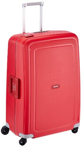 Samsonite S Cure Spinner (4-Rollen-Hartschalentrolley 75 cm poppy red)