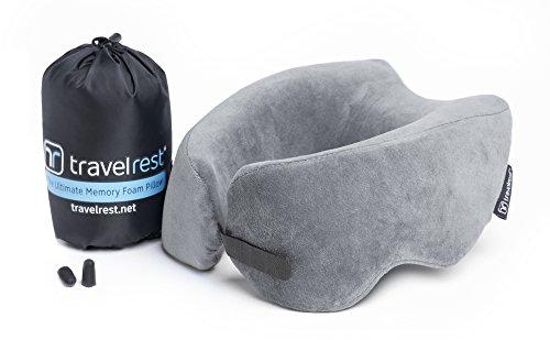 Travelrest Reisekissen aus Memory-Schaumstoff - Ergonomisch, innovativ & patentiert