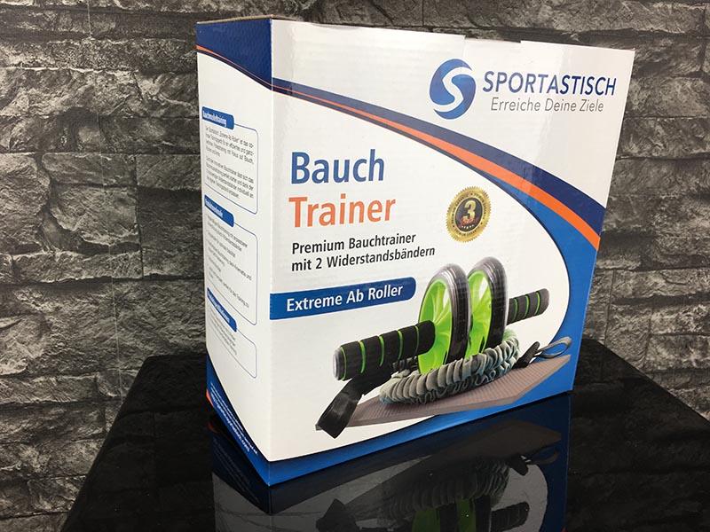 Bauchroller Test Sportastisch Extreme Ab Roller Bauchtrainer Verpackung