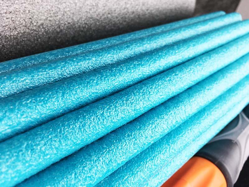 Faszienrolle Test Soft Roll Sportastisch Oberfläche Nahansicht