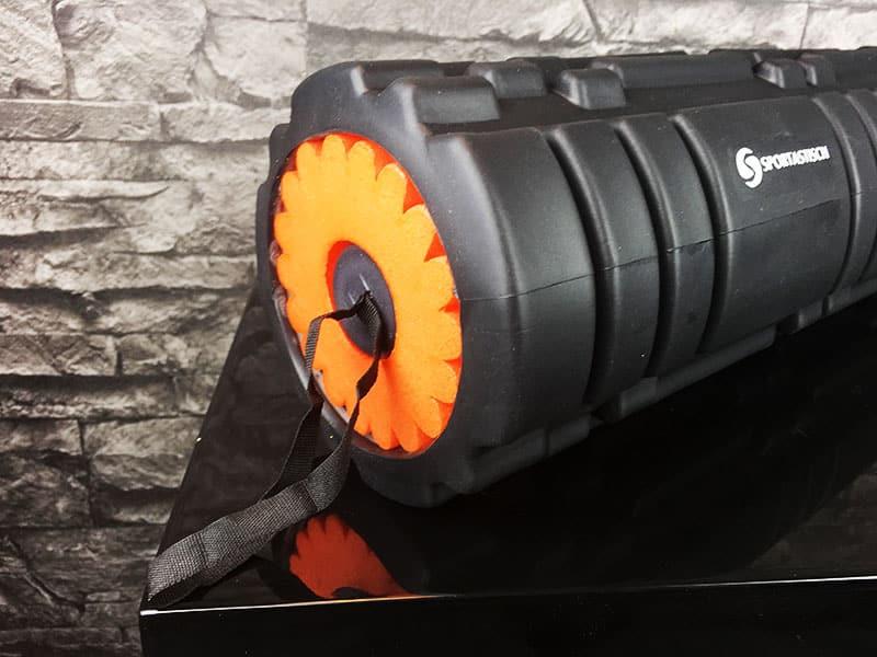 Faszienrolle Test Sportastisch Premium 3 in 1 zusammengebaut Ende