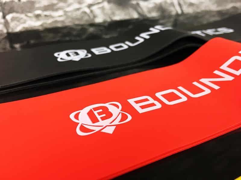 Fitnessband Test Boundletics 3er Set Loop-Bands aus Naturkautschuk Detailansicht