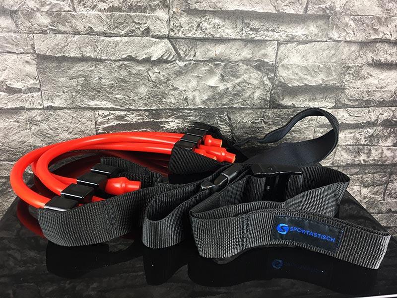 Klimmzugband Test Sportastisch Pull Hard Klimmzughilfe Gesamtansicht