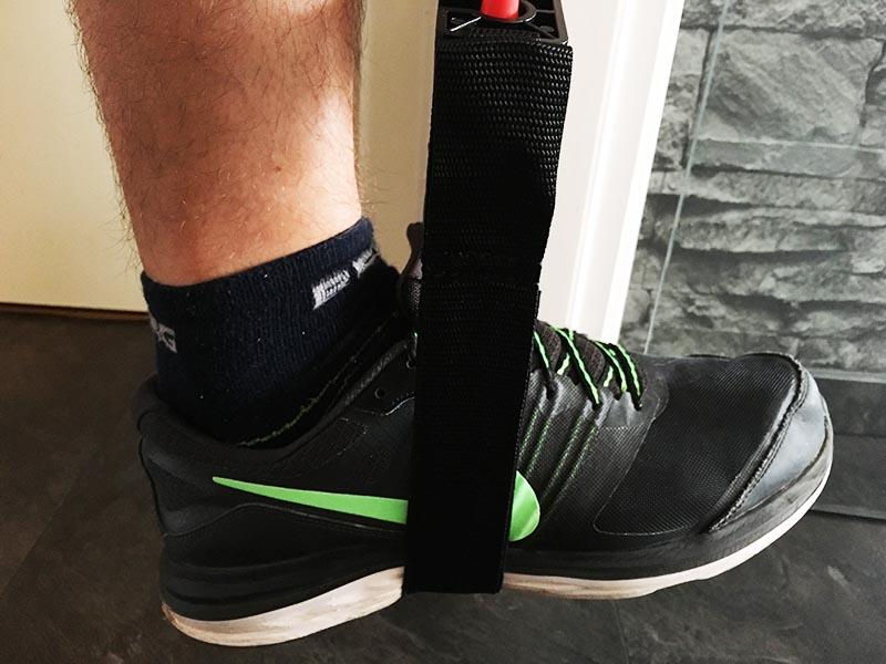Klimmzugband Test Sportastisch Pull Hard Klimmzughilfe Schuh