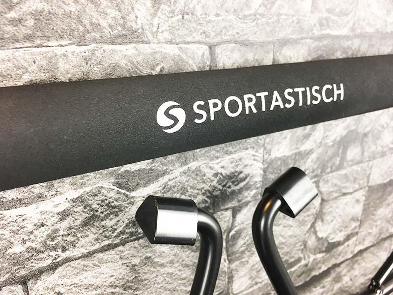 Klimmzugstange Test Sportastisch Klimmzugstange Extreme Chin Up Logo