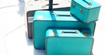 Kofferset Reisekoffer Set Türkis