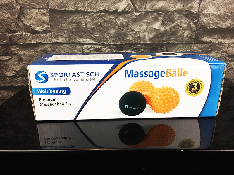 Massageball Test Sportastisch Well-Being Verpackung