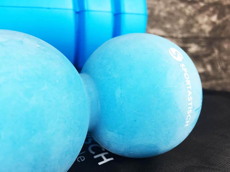 Massageball blau