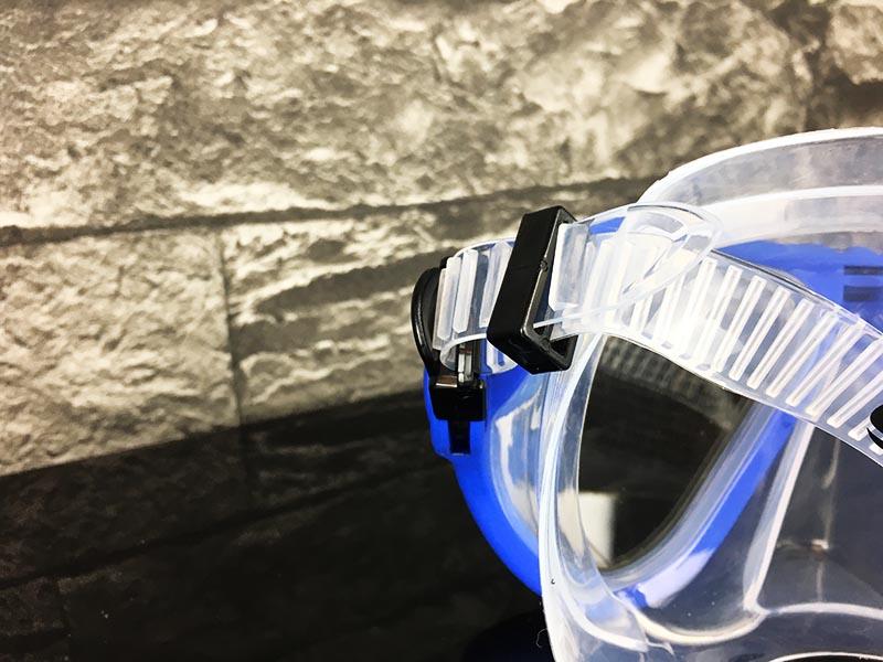 Schnorchelset Test Sportastisch Snorkel Star Blau Größen Verstellbarkeit