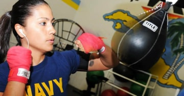 Speedball Test Boxerin Navy Speedball Plattform