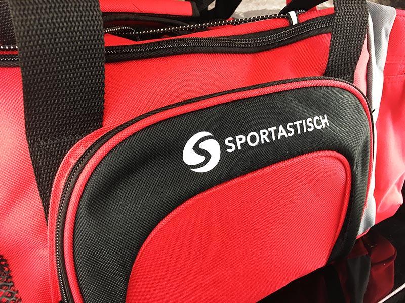 Sporttasche Sportastisch Sporty Bag rot Fronttasche