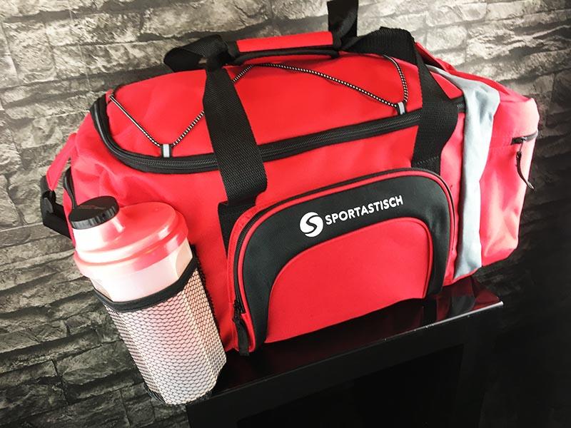 Sporttasche Sportastisch Sporty Bag rot Gesamtansicht