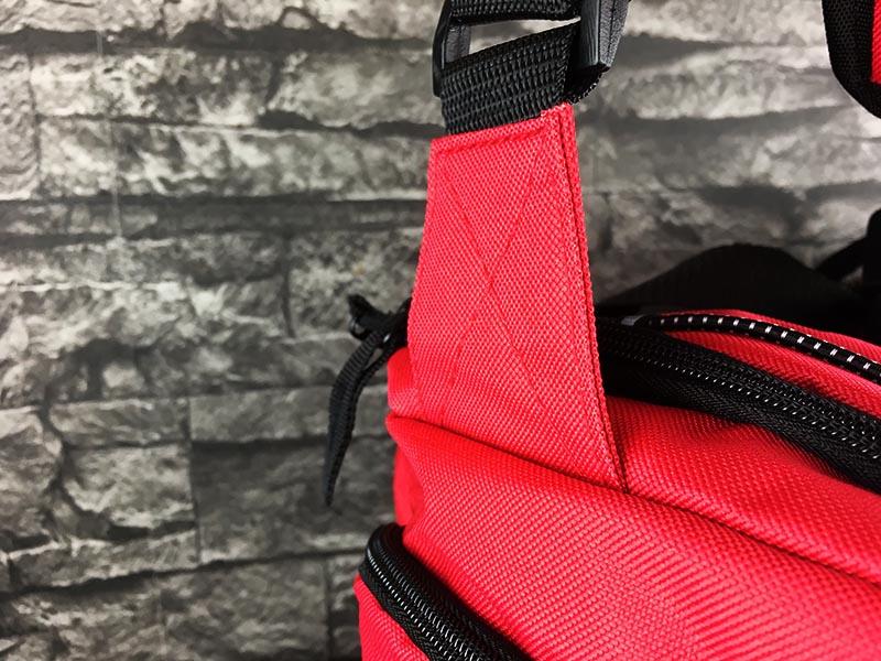 Sporttasche Sportastisch Sporty Bag rot Gurt