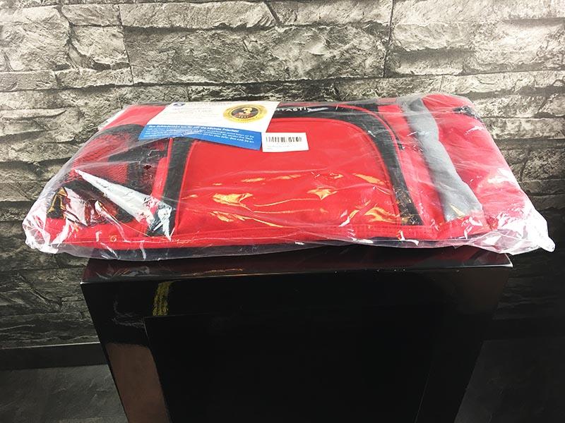 Sporttasche Sportastisch Sporty Bag rot verpackt