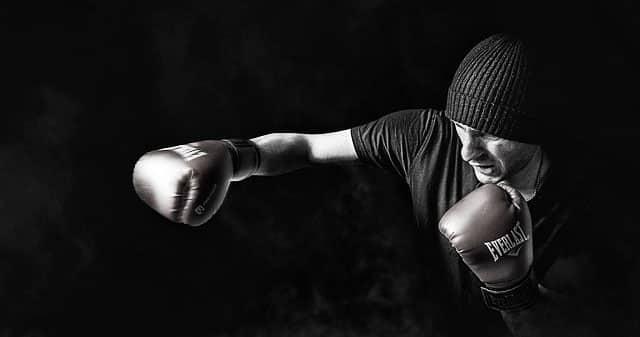Gold/´s Gym Erwachsene Standboxsack Tube Trainer Schwarz