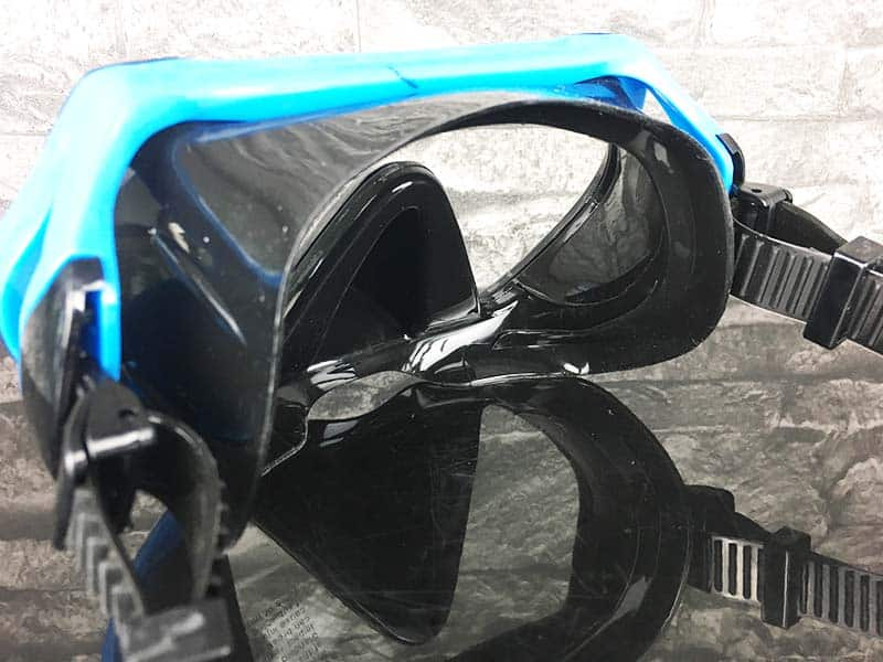 Taucherbrille Test Sportastisch Dive Under Gummirahmen