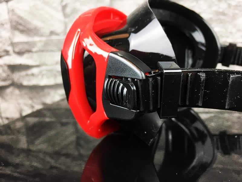 Taucherbrille Test Sportastisch Redfish Rot