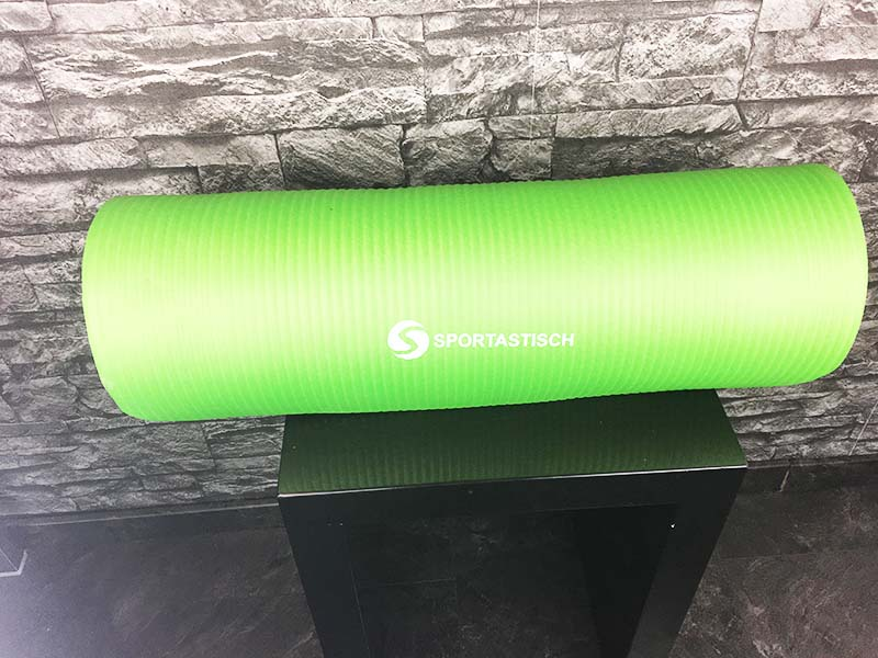Yoga Matte Test Gym Mat Pro Sportastisch Gesamtansicht
