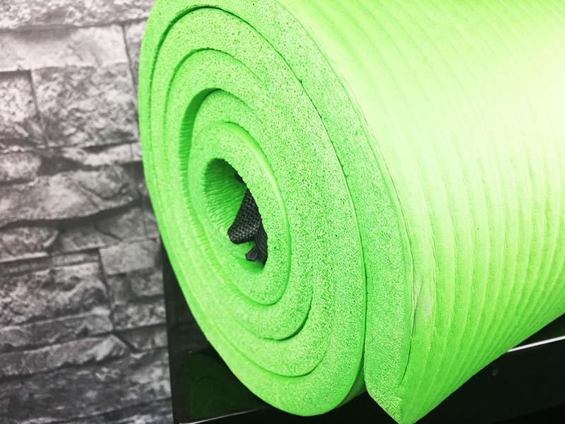 Yoga Matte Test Gym Mat Pro Sportastisch Querschnitt